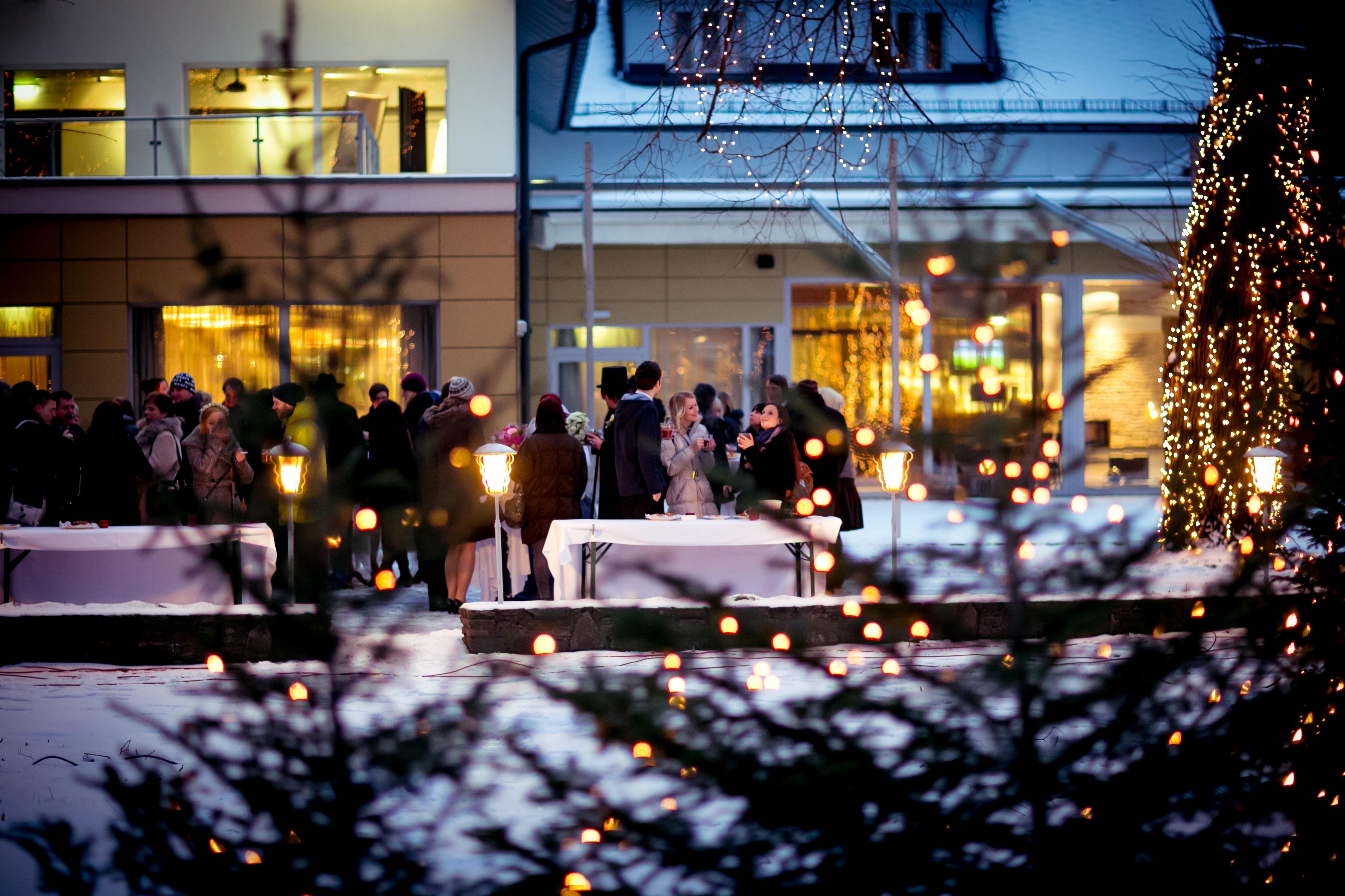 Kick-off-Veranstaltungen und Gartenpartys  im Seminarhotel bei Wien Krainerhütte