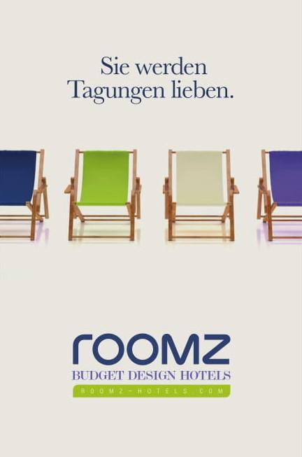 Mehr Raum, mehr Komfort, mehr Design. Willkommen in den roomz Hotels!