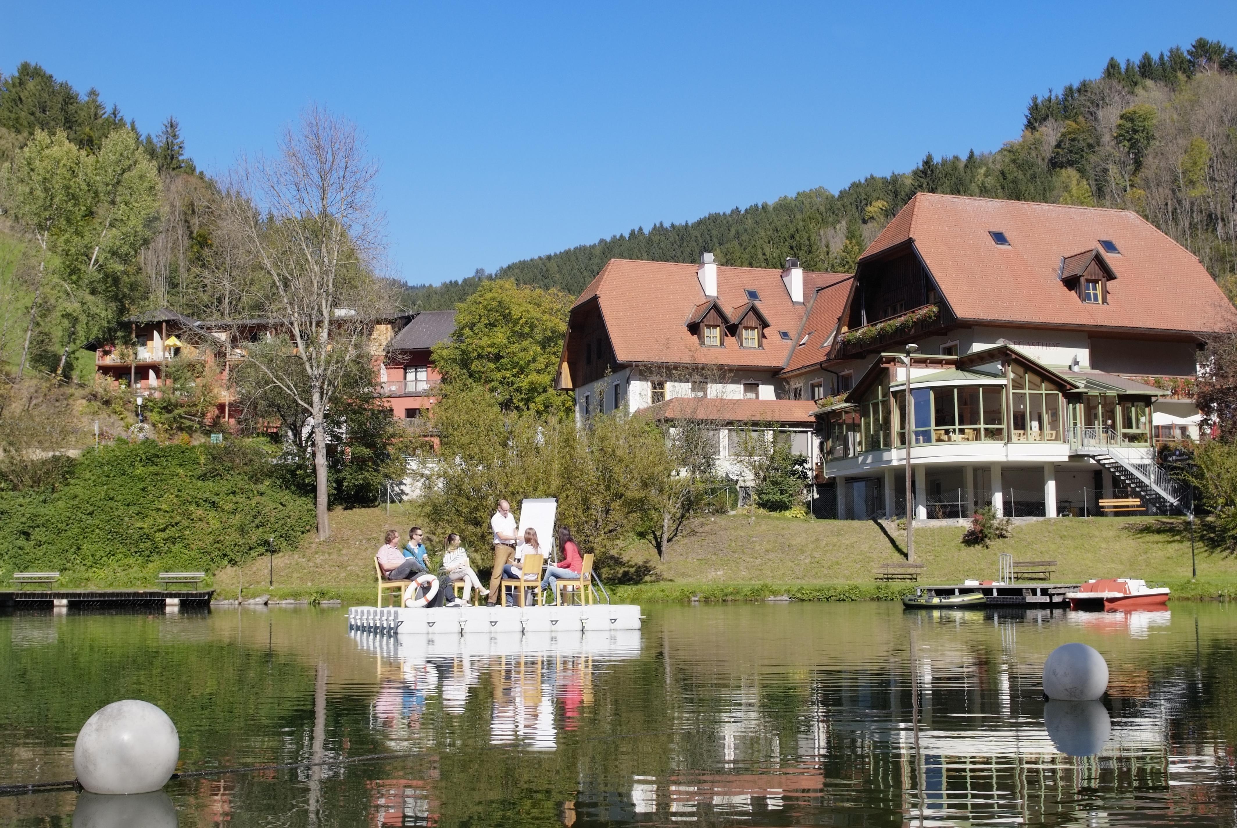Seminare, Tagungen und Workshops im stilvollen Rahmen des Seegasthofs Breineder in der grünen Joglland-Waldheimat mit direkter Seelage.