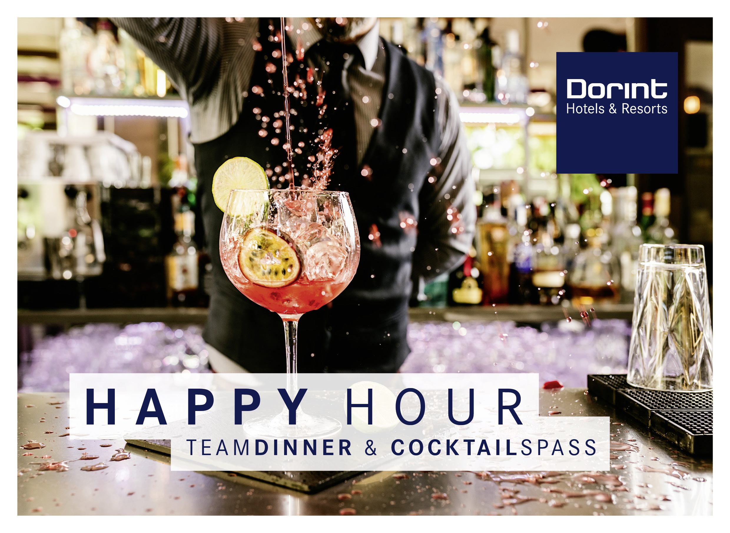 Special: Happy Hour bei den Dorint Hotels & Resorts