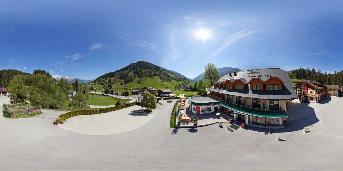 Hotel Vitaler Landauerhof  – Freibereich für Seminare
