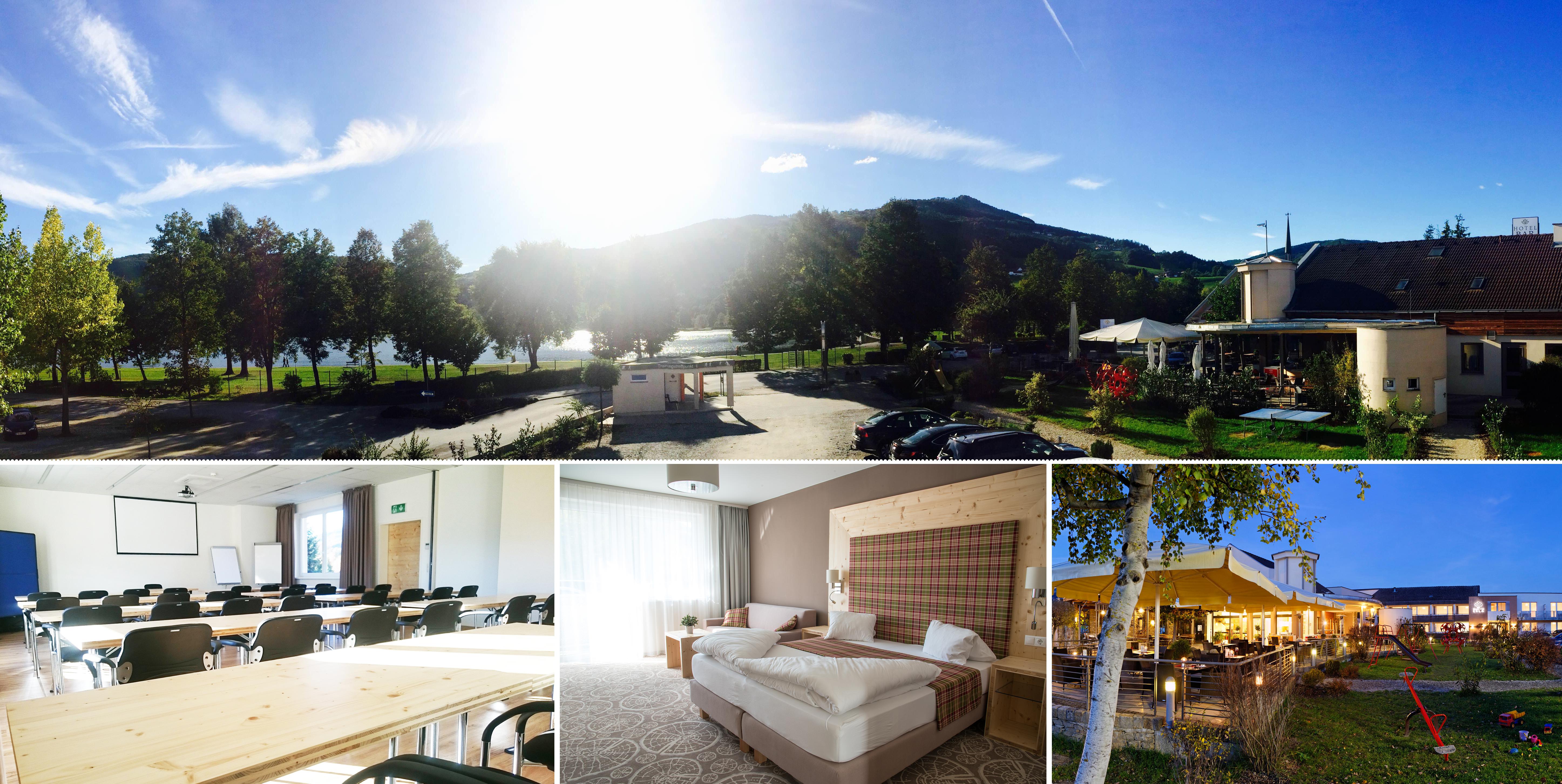 4 Flipcharts für das Boutique Hotel Erla**** direkt am Stubenbergsee in der Steiermark